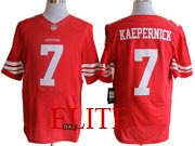 mens nfl San Francisco 49ers #7 Colin Kaepernick red elite jersey