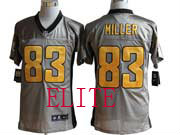 Mens Nfl Pittsburgh Steelers #83 Miller Gray Shadow Elite Jersey