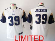 Youth Nfl St. Louis Rams #39 Jackson White Limited Jersey