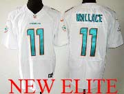 Mens Nfl Miami Dolphins #11 Wallace White (2013 New) Elite Jersey