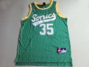 Mens Nba Seattle Supersonics #35 Durant Full Green Jersey (m)