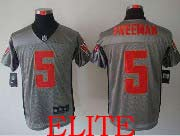 Mens Nfl Tampa Bay Buccaneers #5 Freeman Gray Shadow Elite Jersey