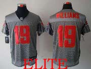 Mens Nfl Tampa Bay Buccaneers #19 Williams Gray Shadow Elite Jersey