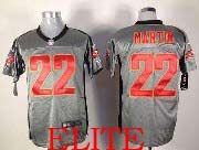 Mens Nfl Tampa Bay Buccaneers #22 Martin Gray Shadow Elite Jersey