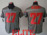 Mens Nfl Tampa Bay Buccaneers #27 Blount Gray Shadow Elite Jersey
