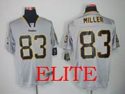 Mens Nfl Pittsburgh Steelers #83 Miller Gray (light Out) Elite Jersey