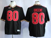 Mens Ncaa Nfl Florida State Seminoles #80 Greene Black (fsu) Jersey Gz