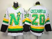 Mens Nhl Dallas Stars #20 Ciccarelli White Throwbacks Ccm Jersey