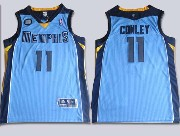 Mens Nba Memphis Grizzlies #11 Conley Light Blue Jersey(m)