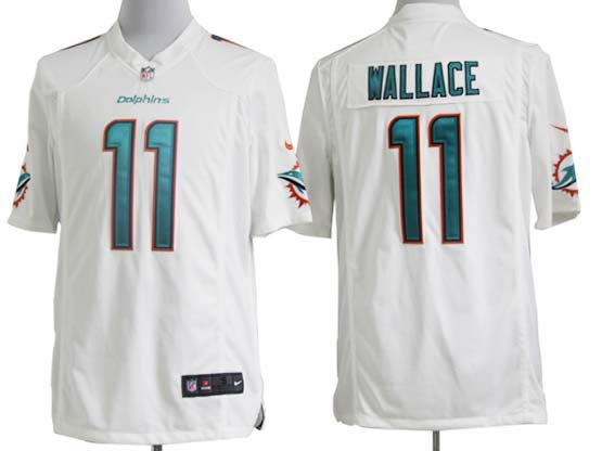Mens Nfl Miami Dolphins #11 Wallace White (2013 New) Game Jersey