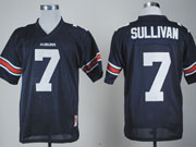 Mens Ncaa Nfl Auburn Tigers #7 Sullivan Dark Blue Jersey Gz