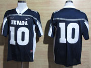 Mens Ncaa Nfl Nevada Wolf Pack #10 Kaepernick Blue Jersey Gz