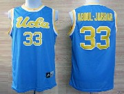 Mens Ncaa Nba Ucla Bruins #33 Abdul.jabbar Light Blue Jersey Gz