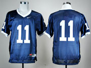 Mens Ncaa Nfl Penn State Nittany Lions #11 Blue Elite Jersey Gz