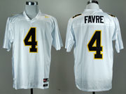 Mens Ncaa Nfl Mississippi Golden Eagles #4 Favre White Jersey Gz