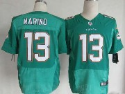Mens Nfl Miami Dolphins #13 Marino Green (2013 New) Elite Jersey