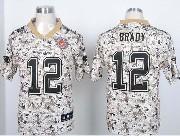 mens nfl New England Patriots #12 Tom Brady 2013 new camo fashion jersey