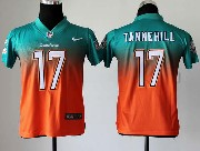 Youth Nfl Miami Dolphins #17 Tannehill Green&orange Drift Fashion Ii Elite Jersey
