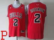 Mens Nba Chicago Bulls #2 Robinson Red (bulls) Revolution 30 Jersey (p)