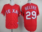 Mens mlb texas rangers #29 beltre red Jersey