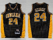 Mens Nba Indiana Pacers #24 George Dark Blue Swingman Soul Jersey