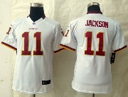 Youth Nfl Washington Redskins #11 Jackson White Limited Jersey