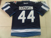 Mens reebok nhl winnipeg jets #44 bogosian dark blue Jersey