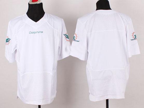 Mens Nfl Miami Dolphins (blank) White (2013 New) Elite Jersey