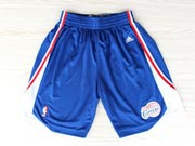 Nba Los Angeles Clippers Dark Blue Short (new Mesh Style)