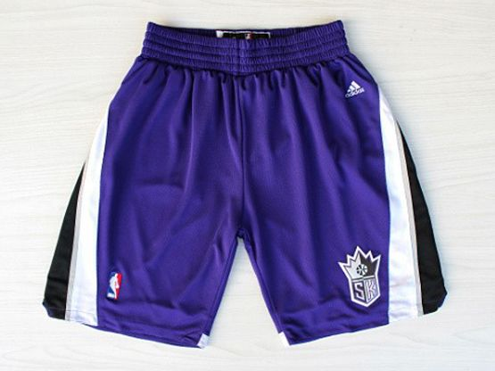 Nba Sacramento Kings Purple Shorts