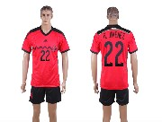 mens soccer mexico national team #22 r.jimenez green home 20red away 14 world cup Suit Jersey