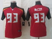 Youth Nfl Tampa Bay Buccaneers #93 Mccoy Red Limited Jersey