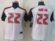 Youth Nfl Tampa Bay Buccaneers #22 Martin White Limited Jersey
