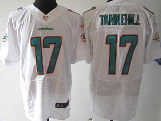 Mens Nfl Miami Dolphins #17 Tannehill (2013 New) White Elite Jersey