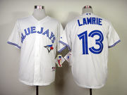 youth mlb toronto blue jays #13 lawrie white 2012 new style Jersey