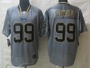 Mens Nfl St. Louis Rams #99 Donald Lights Out Gray Elite Jersey