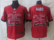 Mens Nfl San Francisco 49ers #25 Ward Drift Fashion White Elite Jersey