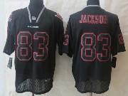 Mens Nfl Tampa Bay Buccaneers #83 Jackson Black (new Lights Out) Elite Jersey