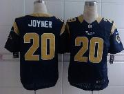 Mens Nfl St. Louis Rams #20 Joyner Blue Elite Jersey