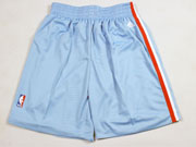 Nba Los Angeles Clippers Light Blue Short (new Mesh Style)