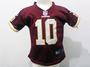 Kids Nfl Washington Redskins #10 Griffin Iii Red Jersey