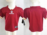 Kids Nfl Washington Redskins Blank Red Jersey