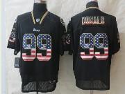 Mens Nfl St. Louis Rams #99 Donald Black (2014 Usa Flag Fashion) Elite Jersey