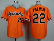 Mens Mlb Baltimore Orioles #22 Palmer Orange 1982 Throwbacks Jersey
