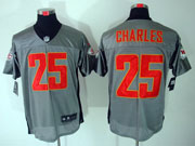 Mens Nfl San Francisco 49ers #25 Charles Gray Shadow Elite Jersey