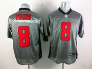 Mens Nfl San Francisco 49ers #8 Young Gray Shadow Elite Jersey