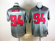 Mens Nfl San Francisco 49ers #94 Smith Gray Shadow Elite Jersey