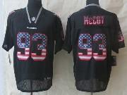 Mens Nfl Tampa Bay Buccaneers #93 Mccoy Black (2014 Usa Flag Fashion) Elite Jersey