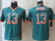 Youth Nfl Miami Dolphins #13 Marino Green 2014 Drift Fashion Elite Jersey