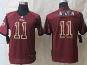 Youth Nfl Washington Red Skins #11 Jackson Red 2014 Drift Fashion Elite